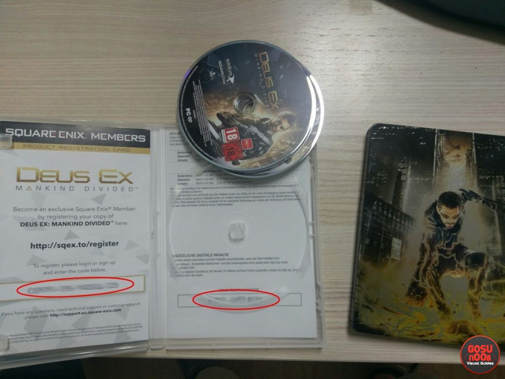 Deus Ex Mankind Divided redeem code