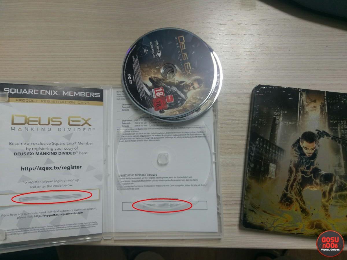 How to redeem codes in Deus Ex: MD and get bonus content