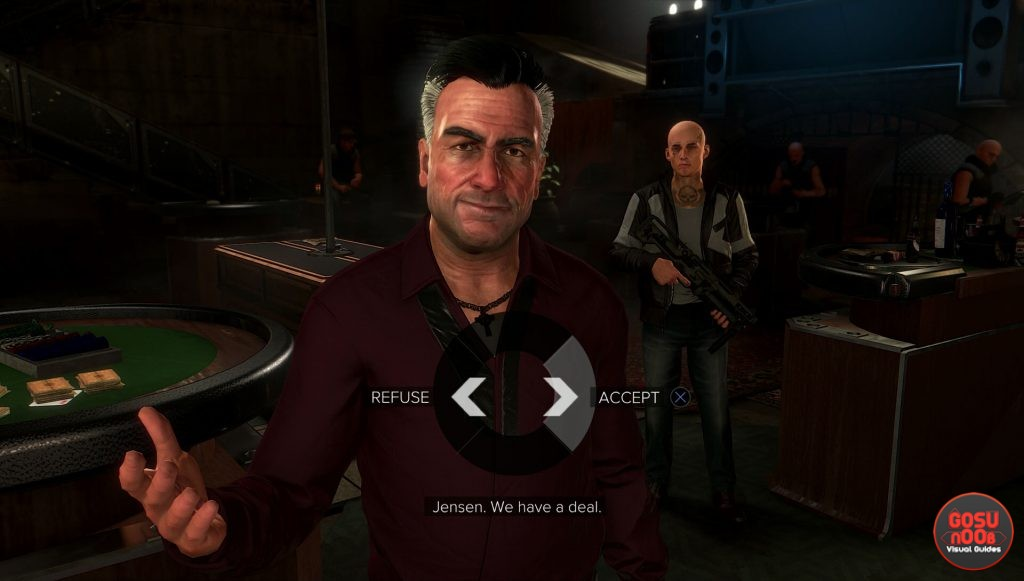 Otar Botkoveli conversation options deus ex mankind divided