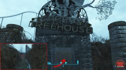 fallout 4 hidden cappy treehouse