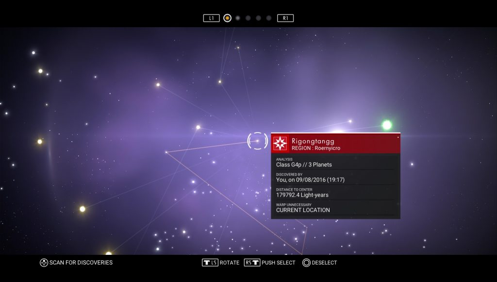 Sky Star Map.How To Go Back To Planets You Explored No Man S Sky