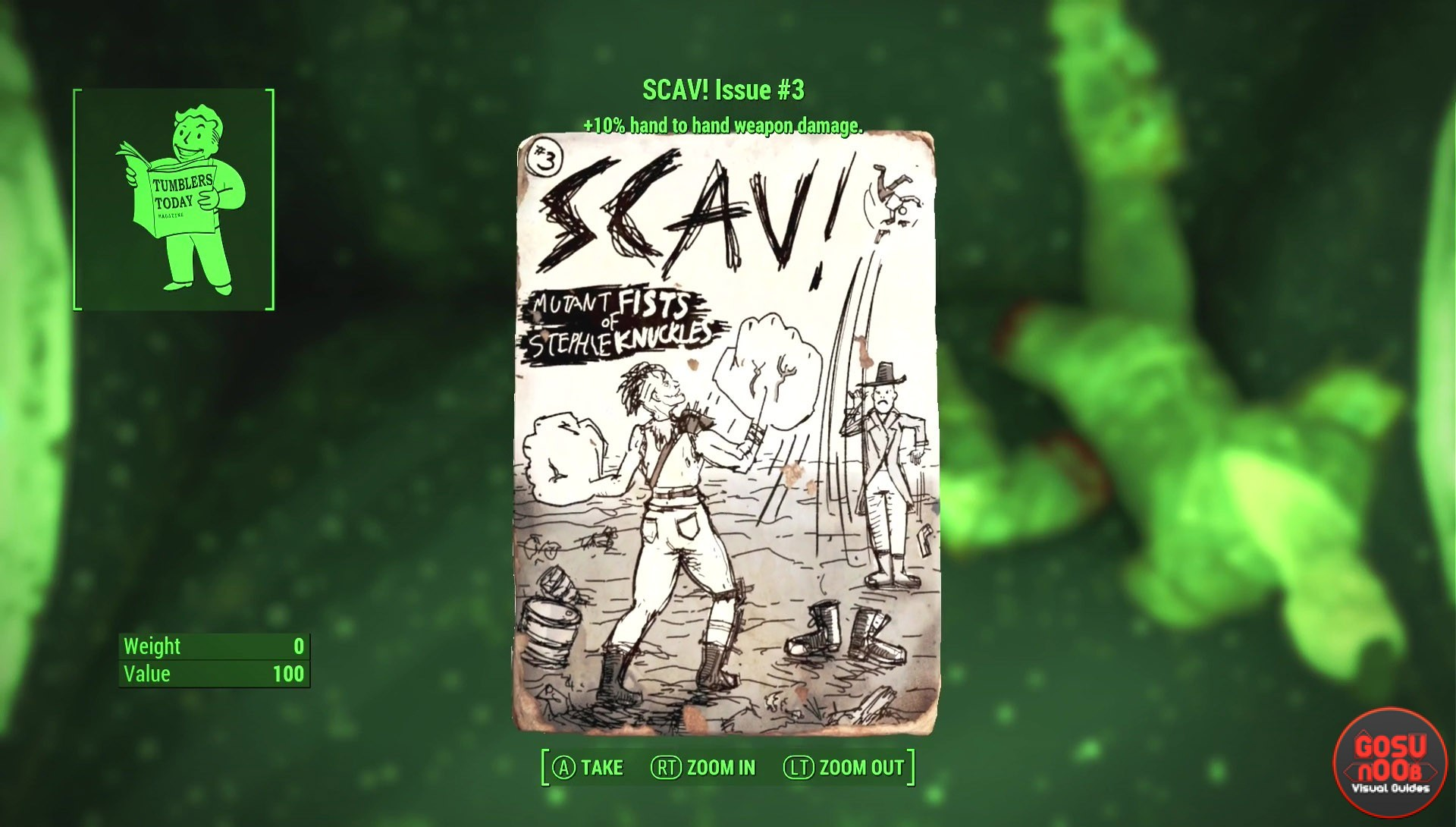 Scav Magazine Locations | Fallout 4: Nuka World