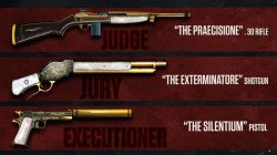 Gold Weapons Mafia 3