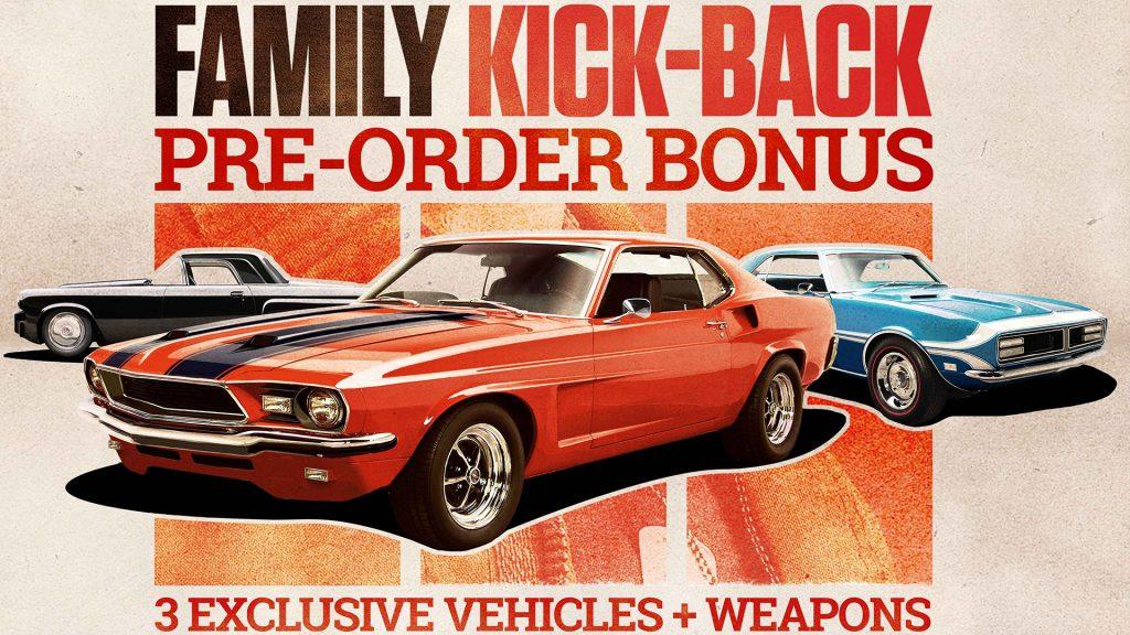 Mafia 3 Pre Order Bonus Family Kick-Back