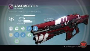 assembly 2 auto rifle vendor weapon