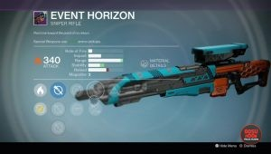 event horizon legendary sniper rifle rise of iron