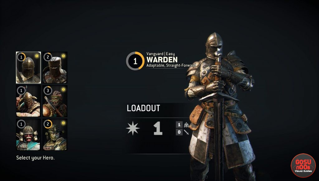 for honor warden how to play