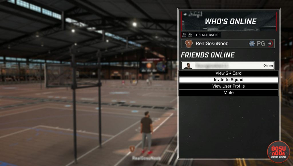 how to play mypark with friends nba 2k17
