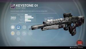 keystone 01 scout rifle destiny