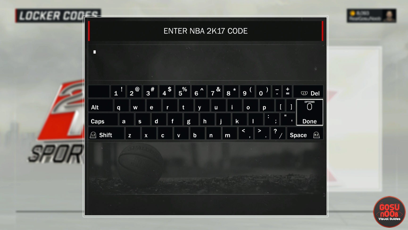 Locker <b>Codes</b> | <b>NBA 2K17</b>