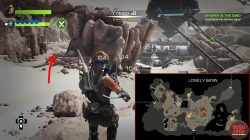 recore prismatic core lonely basin map