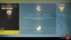 rise of iron gjallarhorn quest