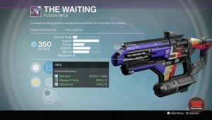 rise of iron the waiting fusion rifle