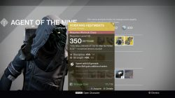 voidfang vestments xur inventory
