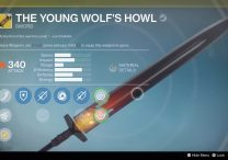 young wolf's howl exotic sword destiny rise of iron