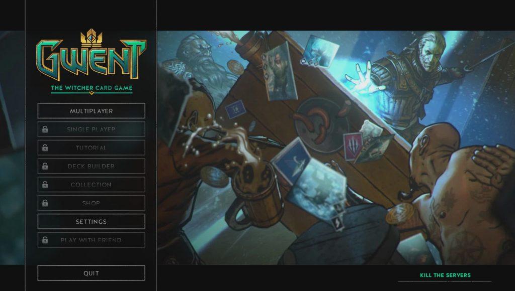 gwent kill the servers stress test