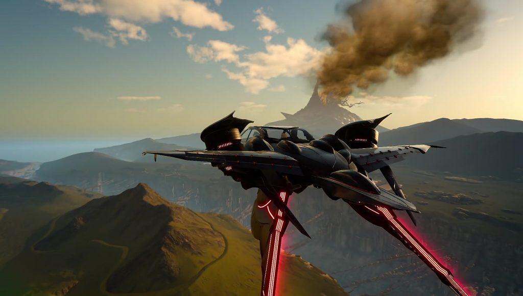 Airship Final Fantasy XV