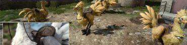 Final Fantasy XV Chocobo Customization