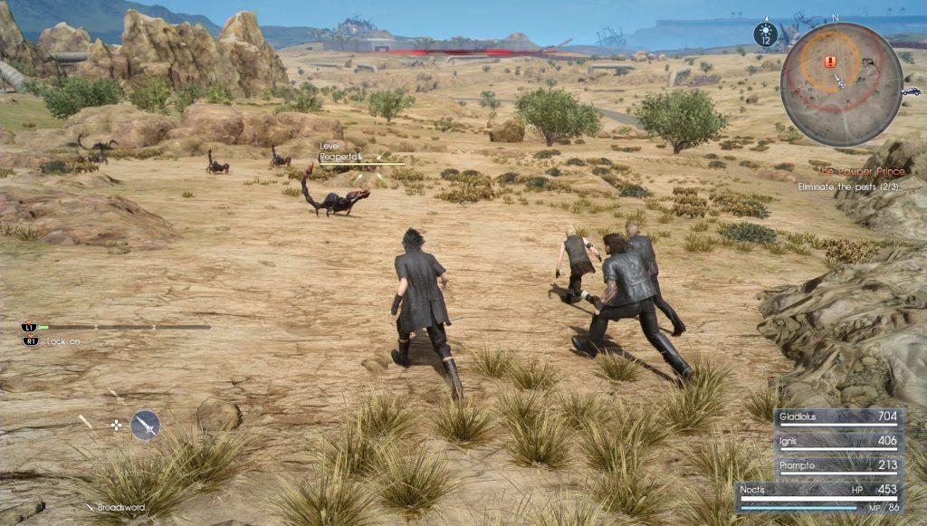 Final Fantasy XV How to Travel