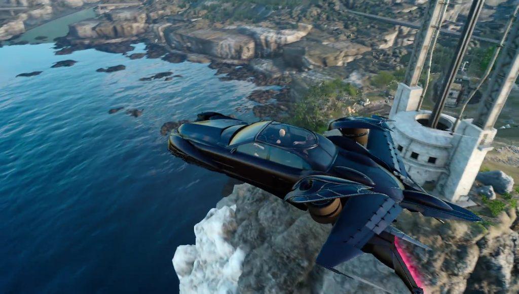 Flying Regalia Final Fantasy XV