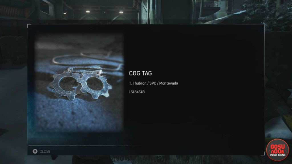 Gears of War 4 COG Tag locations remember the fallen