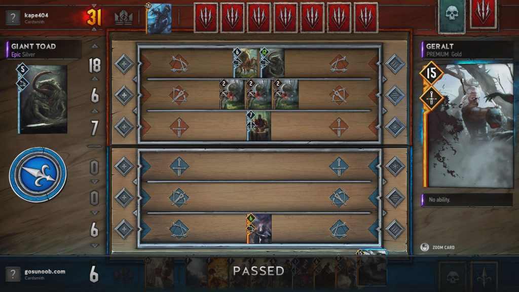 Gwent Northern Realms Deck Kill The Servers 2
