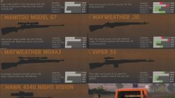 Mafia 3 Rifle List
