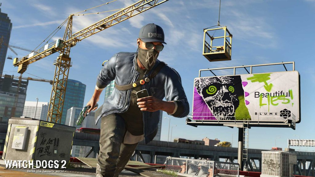 Watch Dogs 2 Easter Egg - New Assassin's Creed Game
