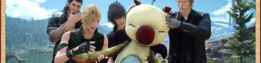 final fantasy xv moogle gameplay video