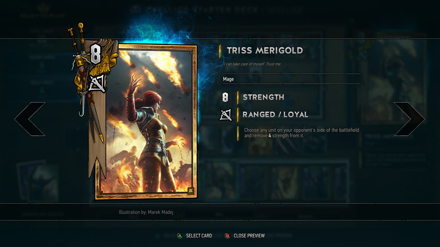 Gwent Live Stream Card Redesign