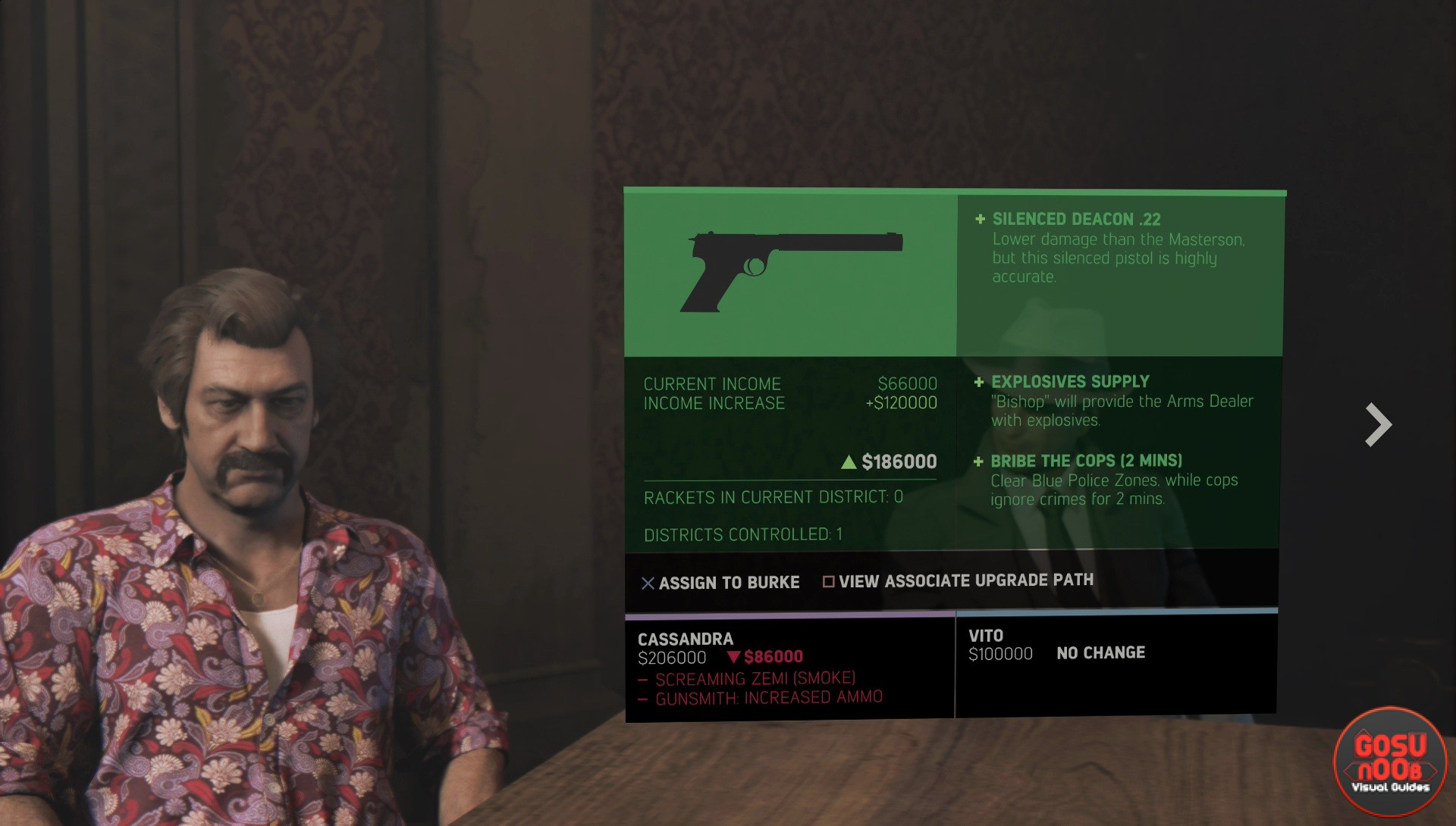 How To Get Easy Money >> Silenced Pistol / Gun in Mafia 3 - How to get