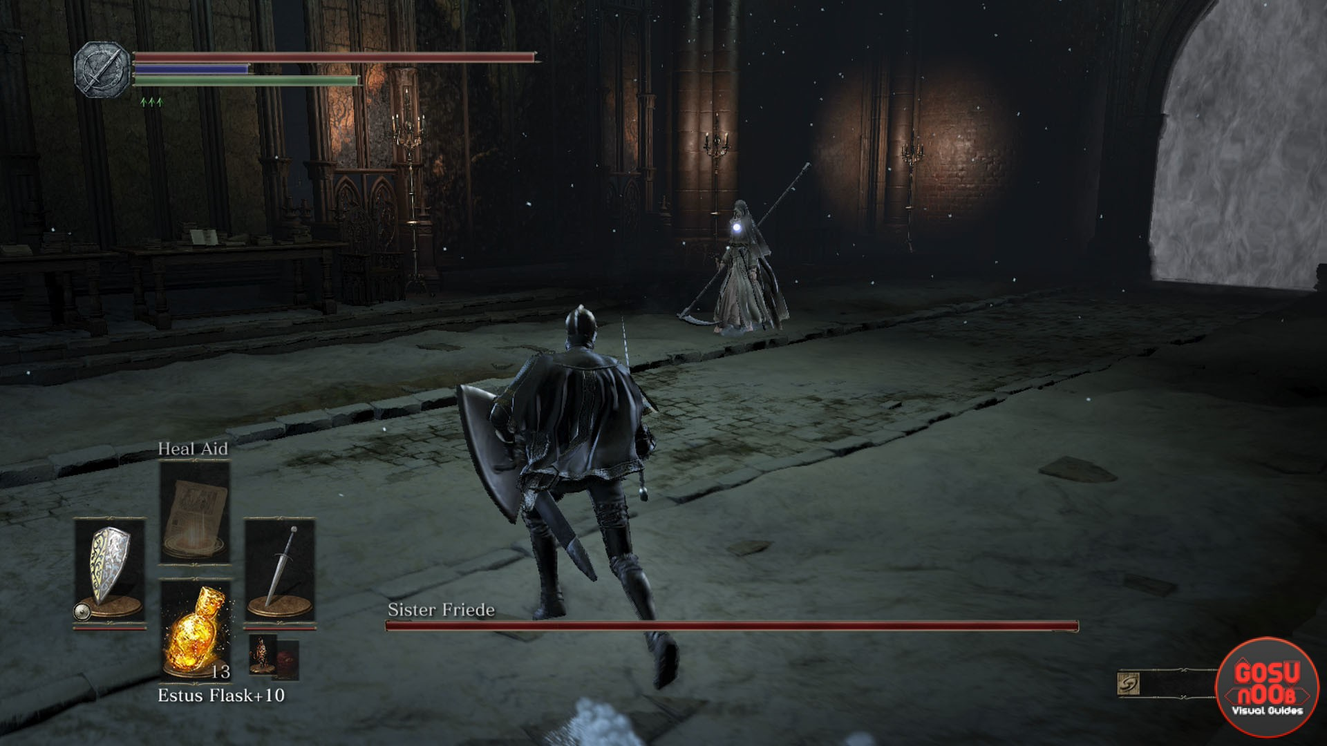 Sister Friede Boss Fight Dark Souls 3 Ashes Of Ariandel