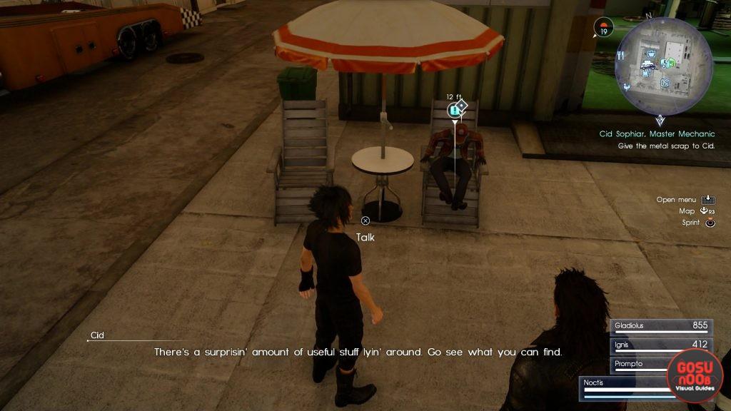 A Better Drain Lance II Quest in Final Fantasy XV