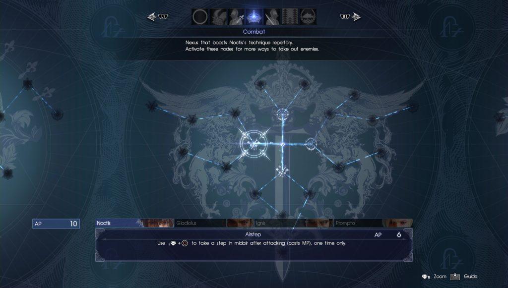 Ascension Final Fantasy XV