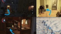 Blueprint Location Mission 8 Dishonored 2