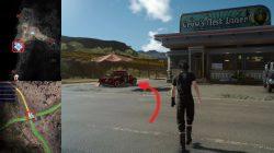 Crow's Nest Diner Peddler Shop Location Leide FFXV