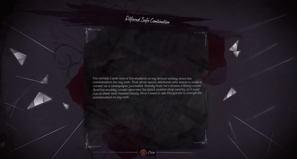 Dishonored 2 Kotaku Reference Easter Egg