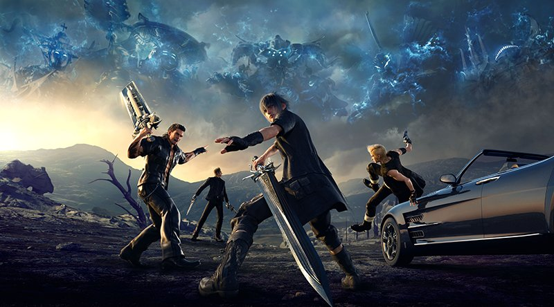 Final Fantasy XV Ride Together Trailer Released