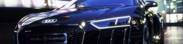 Final Fantasy XV custom Audi R8 Auction