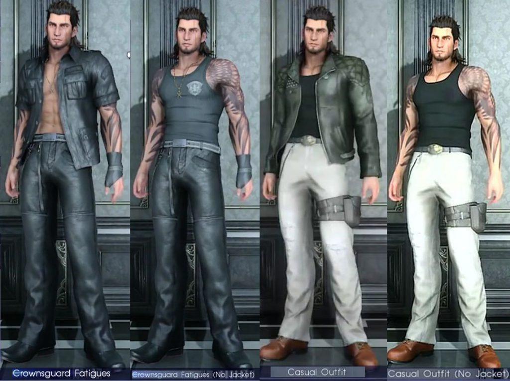 Gladiolus Outfit FFXV