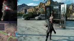 Hammerhead Weapon Shop Location FFXV