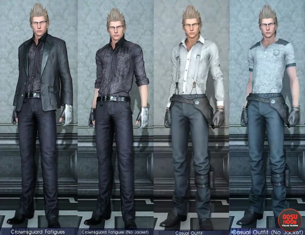 Ignis Outfit FFXV