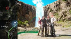 Photo op Waterfall Location FFXV
