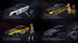 Vehicle Pre Order DLC Bonus FFXV