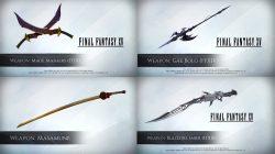 Weapons Pre Order Bonus FFXV