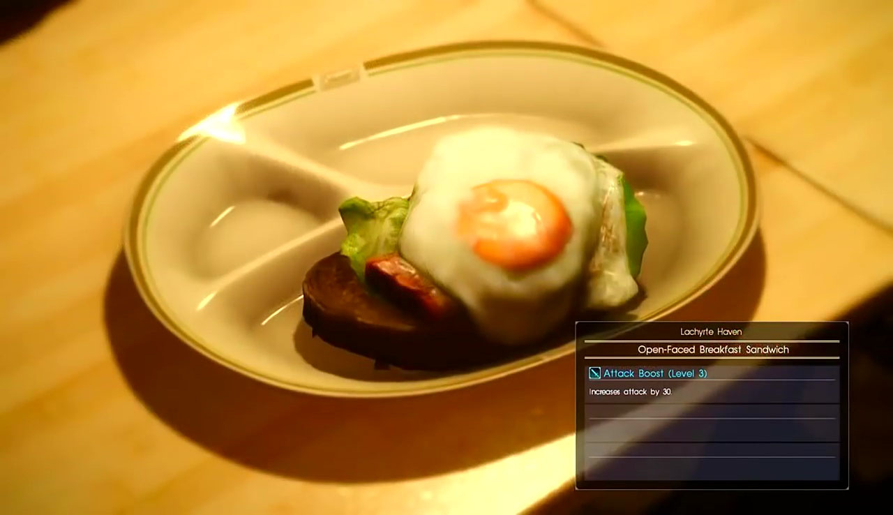 FFXV Cooking Recipe Locations