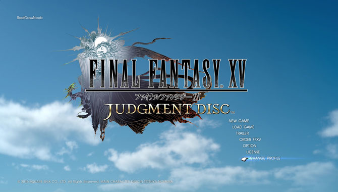 ffxv judgment disc demo patch