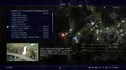 ffxv tomb of the wanderer location