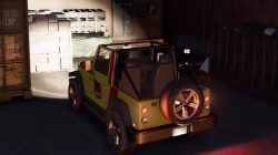 jurassic park car