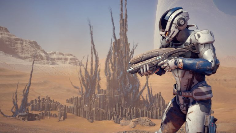 mass effect andromeda gameplay footage announced
